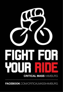 "Critical Mass Kampagne | Motiv ""Fight For Your Right"""