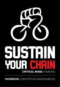"Critical Mass Kampagne | Motiv ""Sustain Your Chain"""