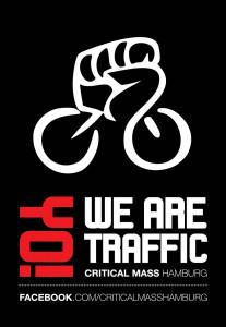 "Critical Mass Kampagne | Motiv ""Yo! We Are Traffic"""