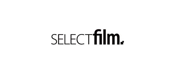 selectfilm – Logo s/w
