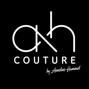 ah couture | Logo full inverted