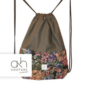 ah couture | Gymbag Flower Pattern