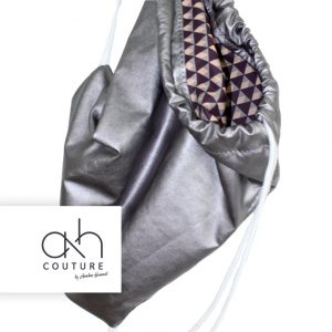 ah couture | Gymbag Silver / Modern Pattern