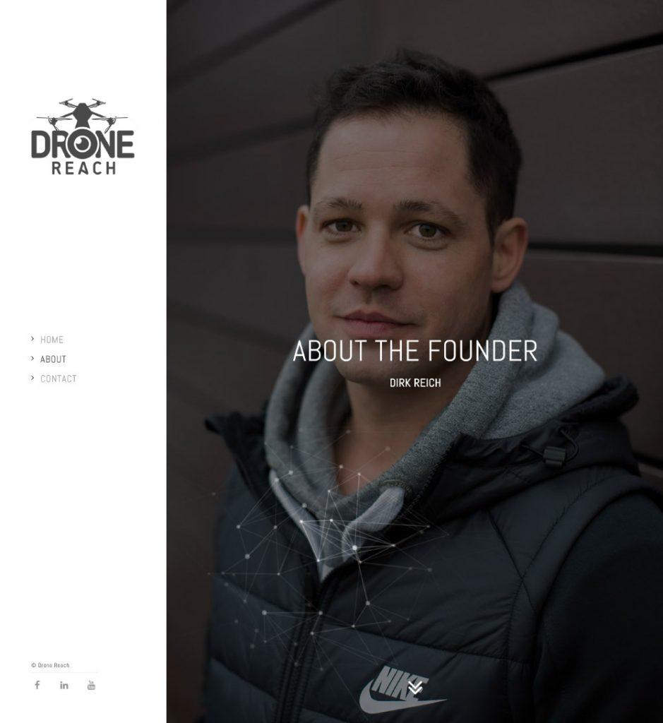 Drone Reach | Minisite
